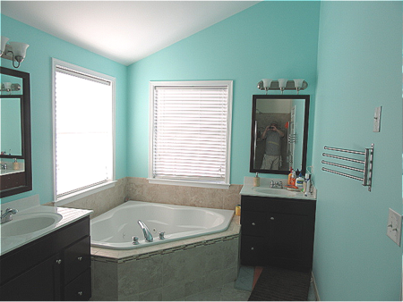 master bathroom painting.