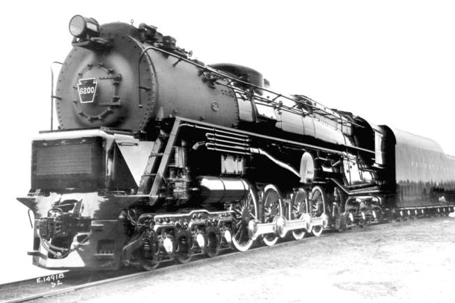 The Pennsylvania Railroad's Class S2 Steam Turbine Locomotive.
