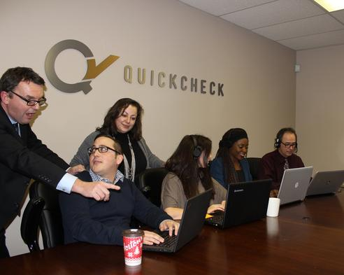 QC staff at work