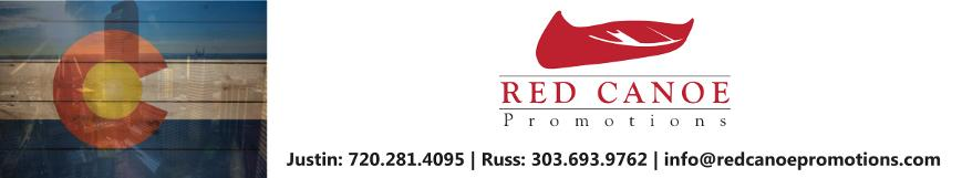 Red Canoe Promotional Products Denver- Order Info