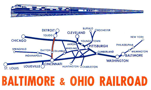 Night Express Route Map.