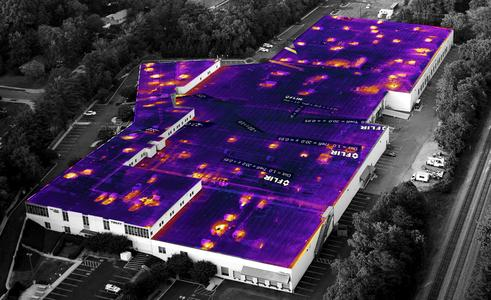 IR Thermal roof scans, moisture surveys