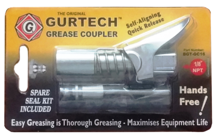 G Coupler grease coupler - Big Gator Tools