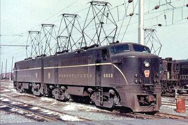 Pennsylvania Railroad E2b Electric Locomotives Nos. 4939 and 4940.