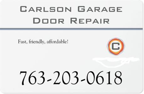 Carlson Garage Door Repair Company In Eden Prairie Mn