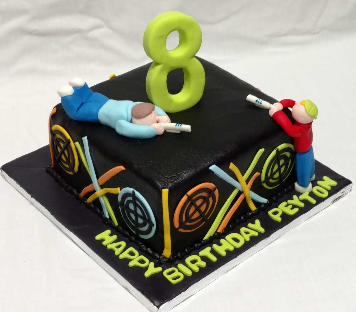 Astounding Custom Made Cakes And Cookies In West Sports Cakes 4 Archery Birthday Cards Printable Riciscafe Filternl