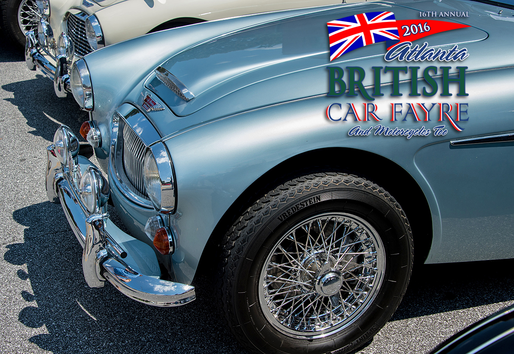2016 Atlanta British Car Fayre Photos