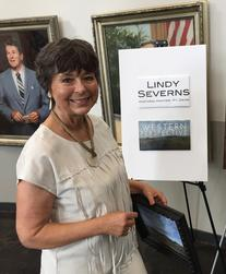 Contemporary Texas artist Lindy Cook Severns, Old Spanish Trail Studio, Fort Davis TX