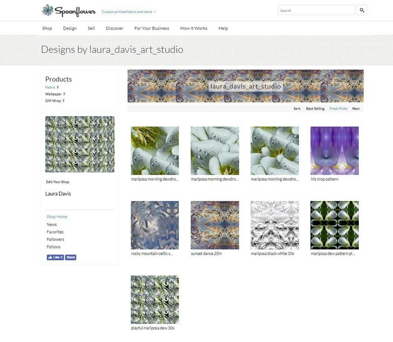 Laura Davis Art Studio designs on Spoonflower