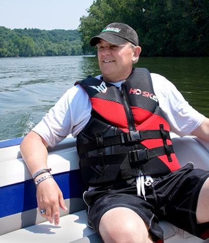Dave Swacina loved swimming and all water sports. Help leave a legacy with a memorial gift to honor Dave in the Cedar Ridge Endowment Fund.
