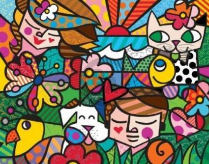 Romero Britto Nature in Harmony