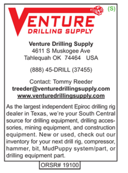 Drilling Equipment, Rex McFadden
