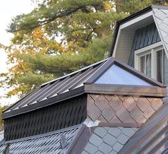Custom Residential Glass Roof Dormer