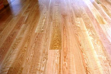Solid Red Oak Hardwood Flooring; Natural red Oak floor with polyurethane finish
