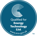 Qualified for Energy Technology List