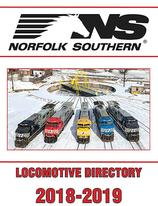 Norfolk Southern Locomotive Directory 2018-2019
