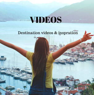 Travel destination videos and inspiration