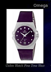 Product Specifications Watch Information Brand, Seller, or Collection Name Omega Model number 123.13.35.60.60.001 Part Number 123.13.35.60.60.001 Model Year 2015 Item Shape Round Dial window material type Sapphire Display Type Analog Case material Stainless Steel Case diameter 35 millimeters Case Thickness 37.2 millimeters Band width 18 millimeters Dial color Purple Guilloche Dial with Diamonds Bezel material Fixed Item weight 1.28 Ounces Movement Quartz