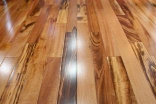 Brazilian Koa/Tigerwood exotic hardwood flooring