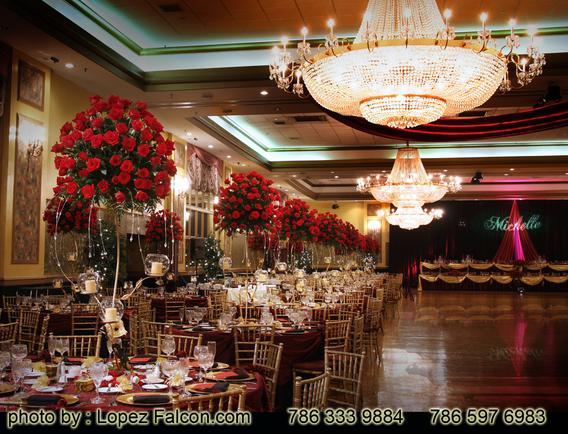 Phantom of the Opera Quinceanera Decoration Centerpieces Miami