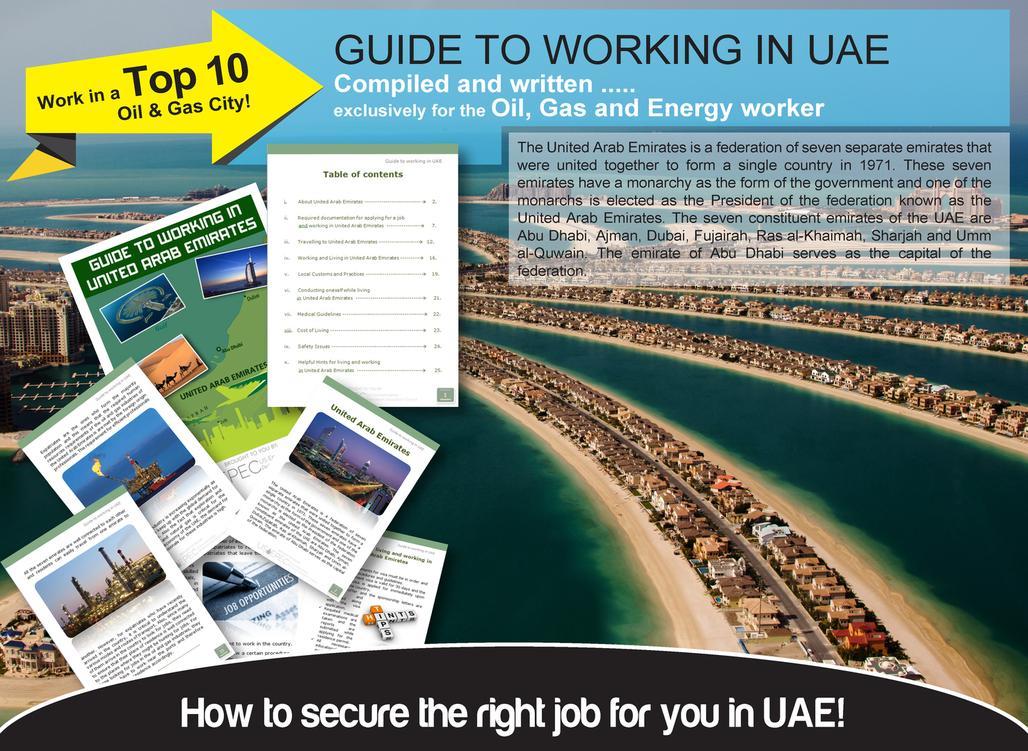 Oil and Gas Jobs UAE United Arab Emirates