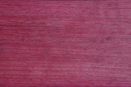 Purpleheart hardwood flooring up close
