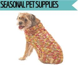 Seasonal pet supplies at Golf Rose Pet Store | Golf Rose Animal Services