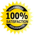 We guarantee that you will be 100% satisfied with your installation