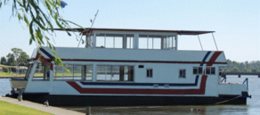 Solar panels for houseboats
