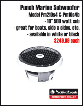Bennigton Aqua Pation Sylvan Pontoon Boat Speakers Autosport Plus Audio Canon Ohio