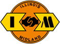 Illinois and Midland logo
