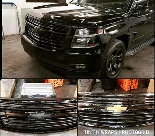 FRONT GRILL BLACKOUT