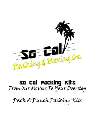 Pack A Punch Packing Kits For So Cal Packing & Moving Customer