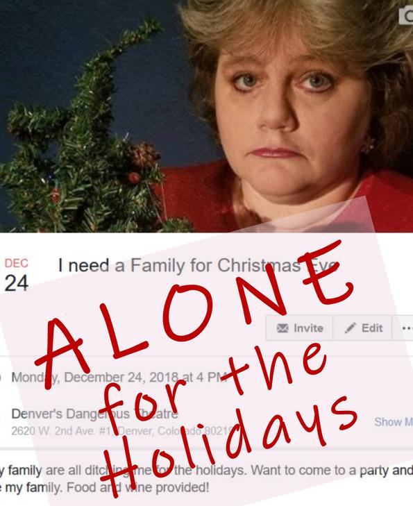 Alone for the Holidays ticketing