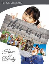 Home and Beauty Fundraising Brochure