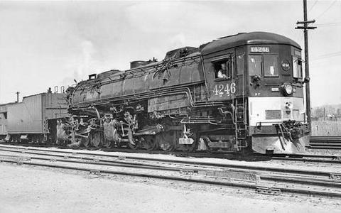 Southern Pacific Class AC-11 Cab Forward Locomotive No. 4246