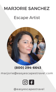 Easy Escapes Travel - Executive Travel Consultant / Escape Artist - Marjorie Sanchez