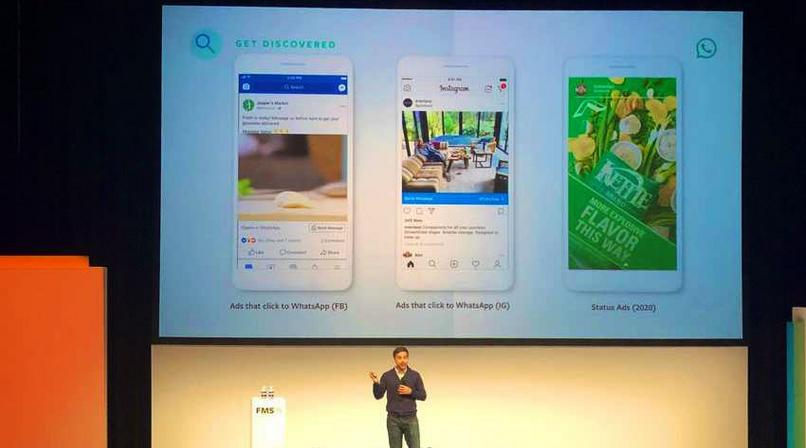 Whatsapp status to get ads in 2020