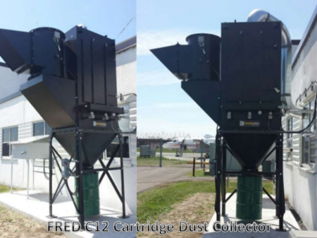 FRED C12 Cartridge Dust Collector