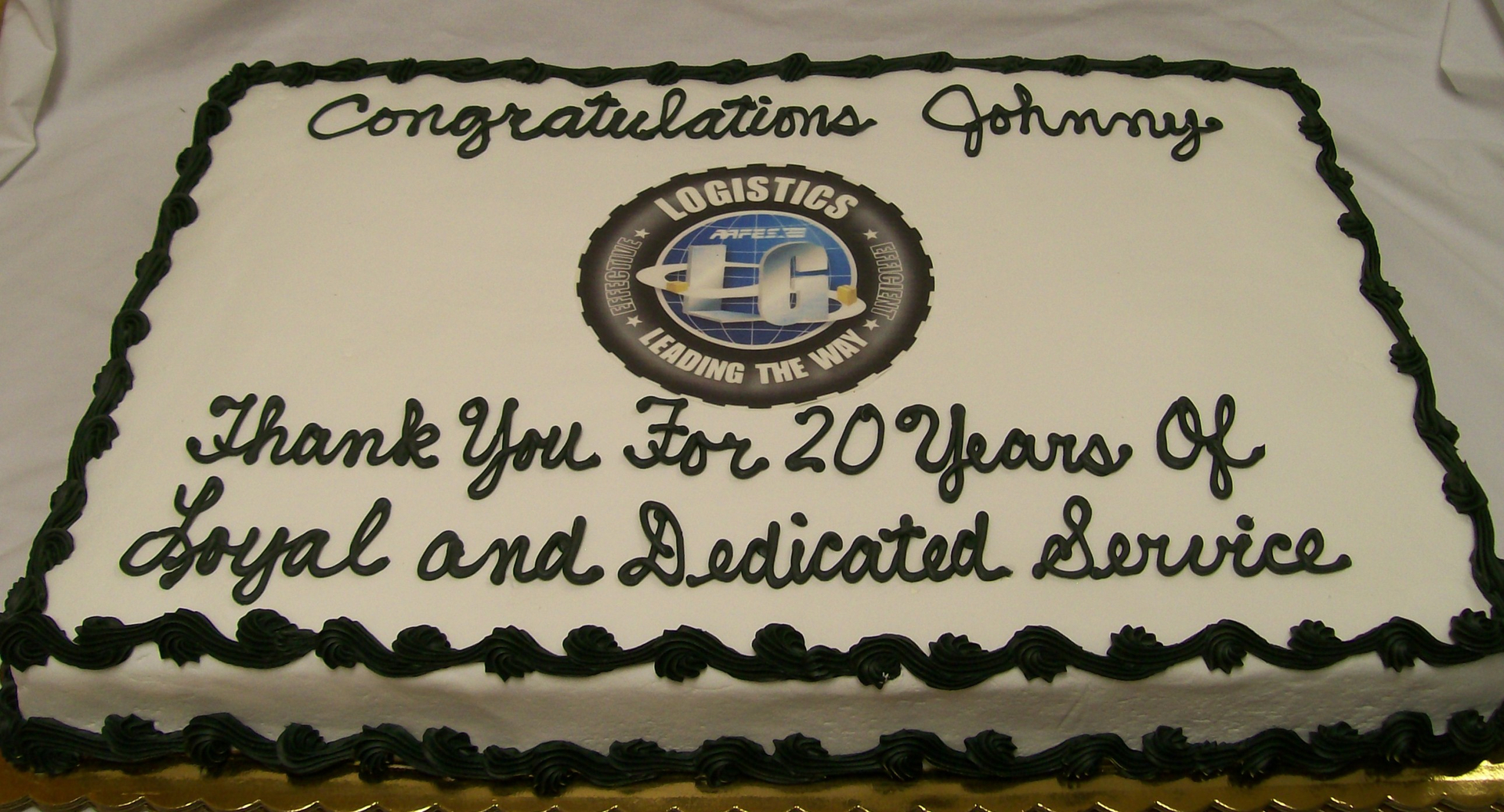Custom Made Cakes And Cookies In West Retirement Appreciation