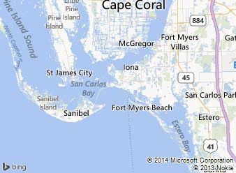 Fsbo sanibel island commercial residential for sale map of southwest florida lee county gumiabroncs Gallery