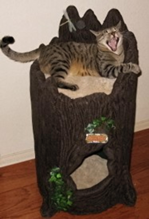 Little Stump Theme Cat Condo