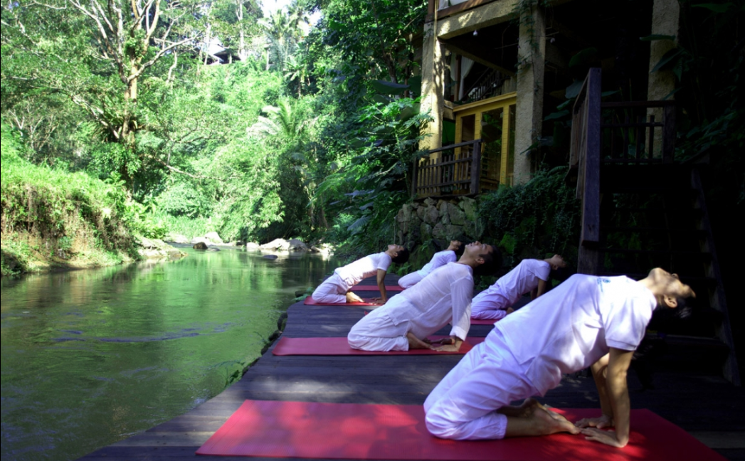 Things to do in Bali,stretching exercises,yoga