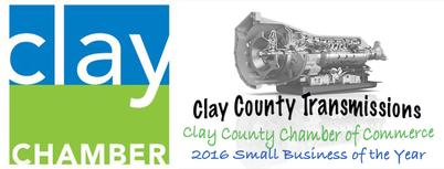 Clay County Transmission Small Business of the year