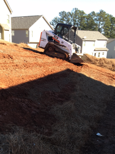 Grading and Retaining Wall Installation in Metro Atlanta Georgia