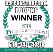 Roofing Contractor Collegeville Award