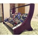 End panels for a modular synthesizer