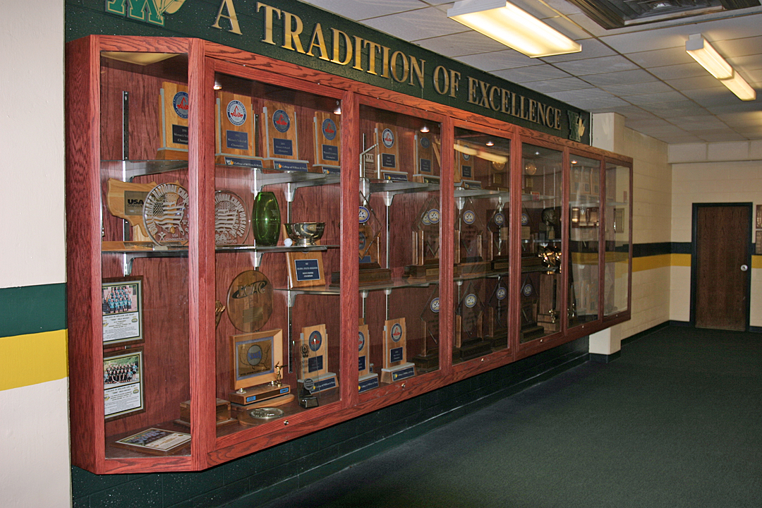Oakwood Sports Is Recognized As The Leader And Best When It Comes To Innovation Design Manufacturing Installation Of Custom Trophy Cases