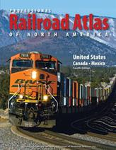 Professional Railroad Atlas North America 4th Edition