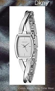 Product specifications Watch Information Brand, Seller, or Collection Name DKNY Model number NY2234 Part Number NY2234 Model Year 2014 Item Shape Round Dial window material type Mineral Display Type Analog Clasp Fold-over-clasp Case material Stainless steel Case diameter 22 millimeters Case Thickness 7 millimeters Band Material Stainless steel Band length Women's Standard Band width 4 millimeters Band Color Silver Dial color Silver Bezel material Stainless steel Bezel function Stationary Special features measures-seconds Item weight 8.80 Ounces Movement Analog quartz Water resistant depth 165 Feet